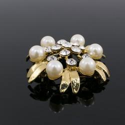 Broche Prendedor Perla Elegante