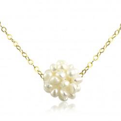 Collar Cadena Perlas Cultivadas