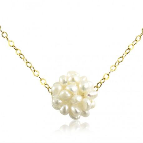 6a0255325dd0 Collar Cadena Perlas Cultivadas - Bisuel