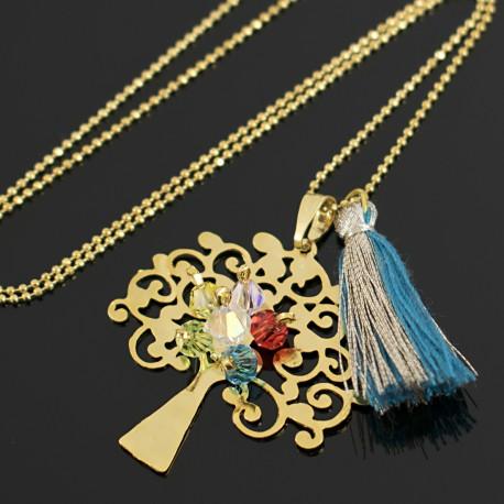 Collar Arbol de la Vida Oro Goldfilled